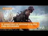 El Ministerio de Defensa prepara contratos para adquirir armamento - Teleamazonas