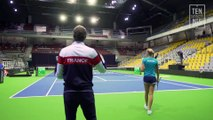 Fed Cup Belgique France : Julien Benneteau a pris ses fonctions !