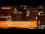 La Asamblea no censuró a exministro Carlos de la Torre - Teleamazonas