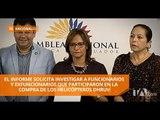 La comisión que investiga el caso Gabela aprobó su informe final - Teleamazonas