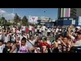 Hinchas de Liga de Quito eufóricos por el triunfo - Teleamazonas