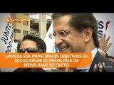 Juan Carlos Solines inscribe candidatura a la Alcaldía de Quito - Teleamazonas