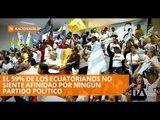 Afiliaciones políticas que registra el CNE tienen inconsistencias - Teleamazonas