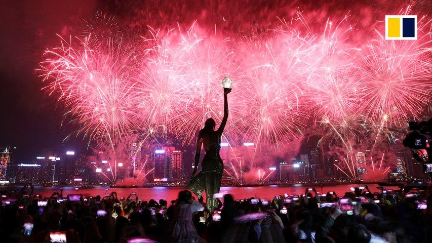 Secrets of Hong Kong's pyrotechnic power