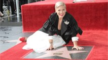 Pink Preaches Self-Love While Receiving Hollywood Walk Of Fame Star