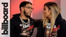 Anuel AA & Karol G Talk Touring Together, Their First Kiss On Stage & More | Billboard