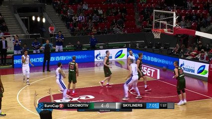 7Days EuroCup Highlights Top 16, Round 6: Lokomotiv 84-58 Skyliners
