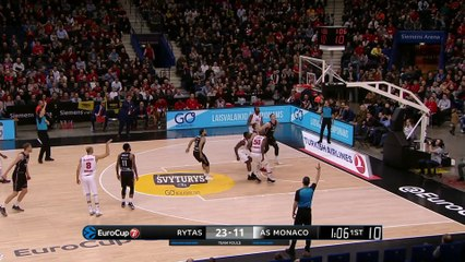 7Days EuroCup Highlights Top 16, Round 6: Rytas 90-68 Monaco
