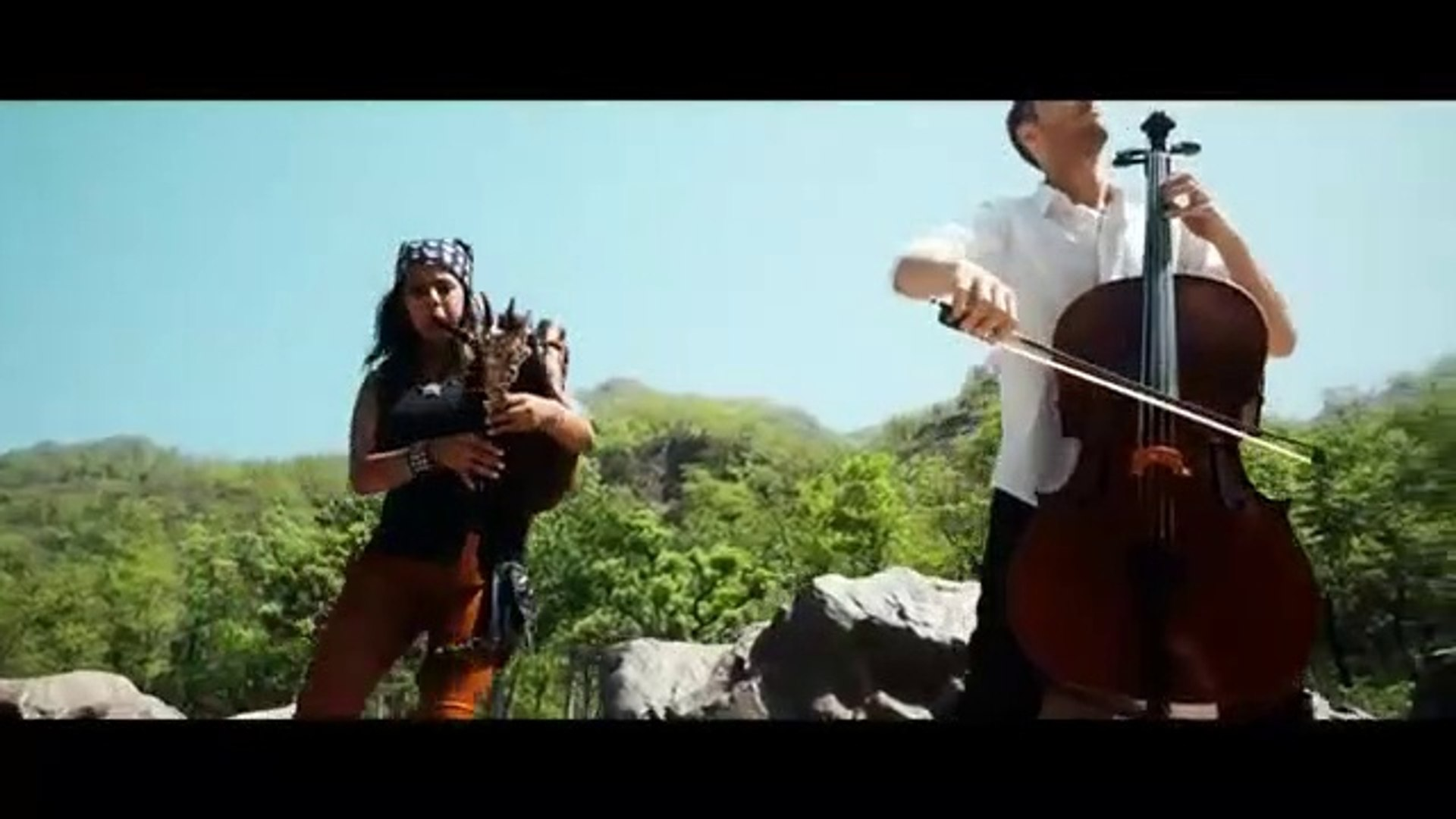 Pirates of the Caribbean Theme Song Bagpipes & Cello (He's a Pirate)