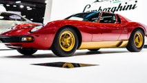 Lamborghini Polo Storico at Rétromobile Paris to unveil the latest restoration - the Miura SV owned by Jean Todt