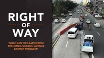 [Right of Way] What can we learn from the MMDA Quezon Avenue barrier problem?