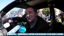 Marseille : une nouvelle station d'autopartage Totem Mobi à Marseille