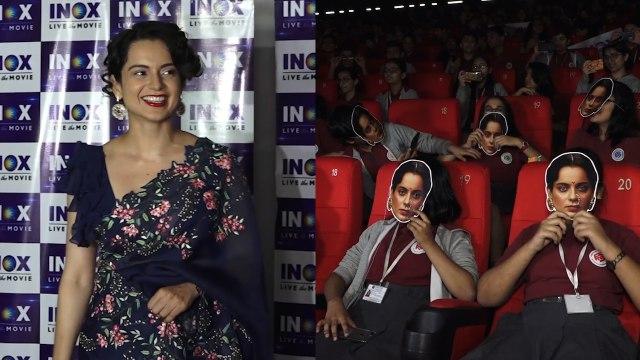 Kangana Ranaut hosts special screening of Manikarnika for school kids