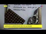 Amenazan a Argentinos Jrs desde las redes sociales