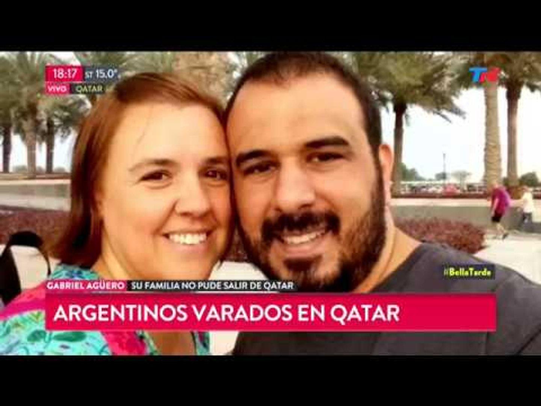 La historia del chef argentino atrapado en Qatar junto a su familia