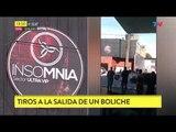 Tiros a la salida de un boliche en Quilmes