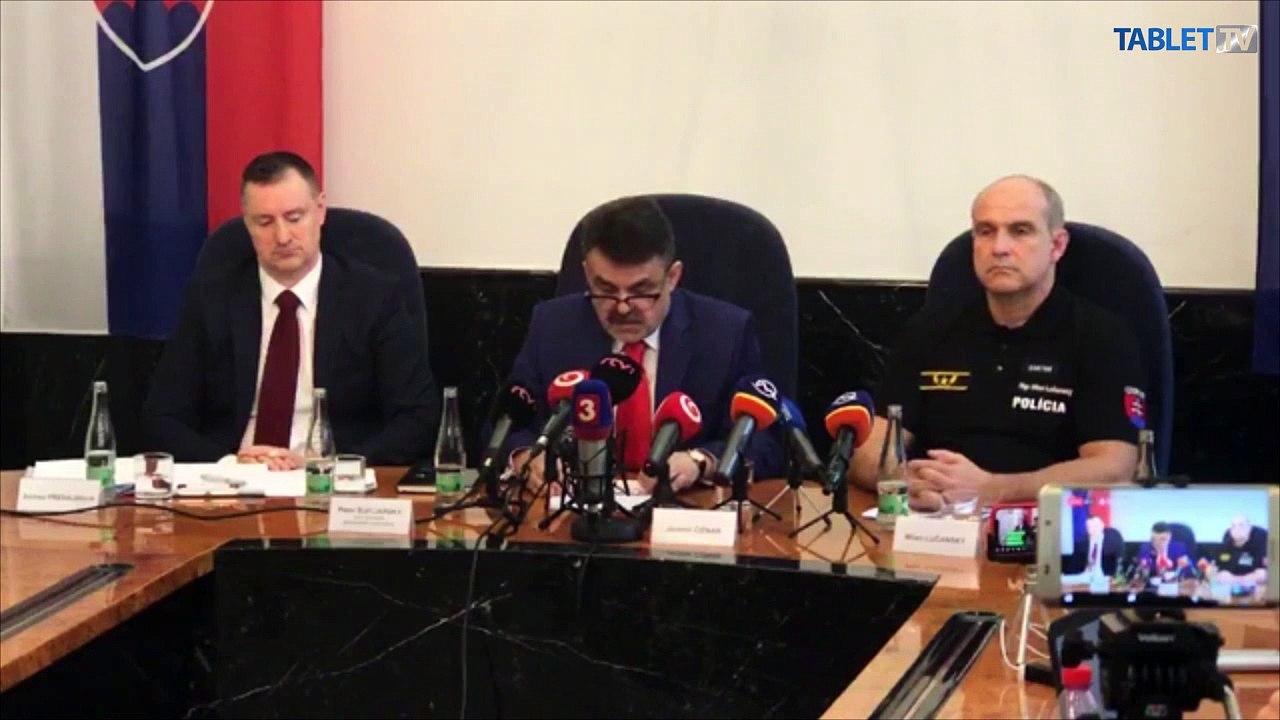 ZÁZNAM: TK generálneho prokurátora SR Jaromíra Čižnára