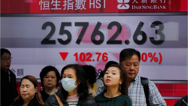 Asian Shares Close To A High Mark