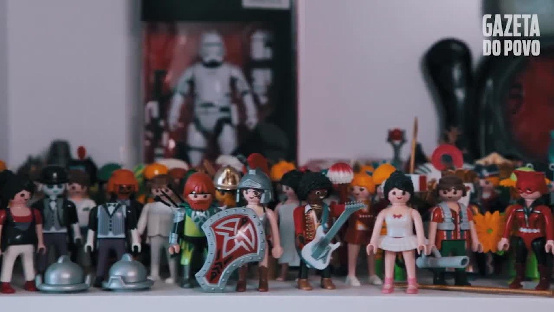Doutora Playmobil: conheça a médica apaixonada pelos bonecos colecionáveis