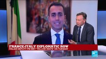 """France-Italy row: """"A repeated pattern from Luigi di Maio and Matteo Salvini"""""""