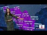 ¡Buenas noticias de clima! Temperaturas máximas están subiendo en México | Noticias con Yuriria