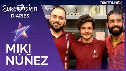 """Entrevista a Miki Nuñez (Eurovisión 2019): """"La opción de comenzar entre el público es de las mejores"""""""