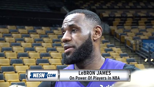 LeBron James On Power Of NBA Players