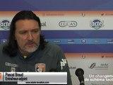 (J21) Concarneau - Laval, avant-match avec P.Braud