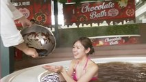 Japanese spa offers chocolate bath as Valentine's Day treat