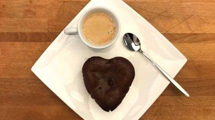 Recette: Coeurs au chocolat et aux fruits rouges