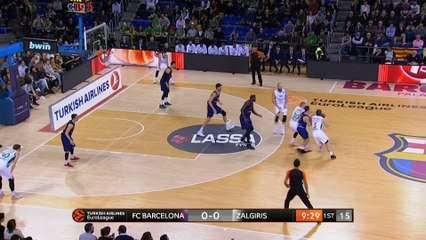 EuroLeague 2018-19 Highlights Regular Season Round 22 video: Barcelona 78-72 Zalgiris