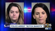'Botox bandits' arrested for running out on $1,200 in treatments