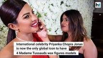 Priyanka Chopra Jonas becomes first to have 4 Madame Tussauds wax figures