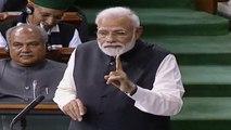 'Mahagathbandhan is mahamilavat': PM Modi's speech in Lok Sabha   Oneindia News