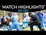 IND vs NZ 4th ODI 2019 Stats Highlights: New Zealand beat India by 8 wickets