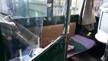 Report TV - Të maskuar dhe armatosur, dy persona grabisin një karburant në Vlorë