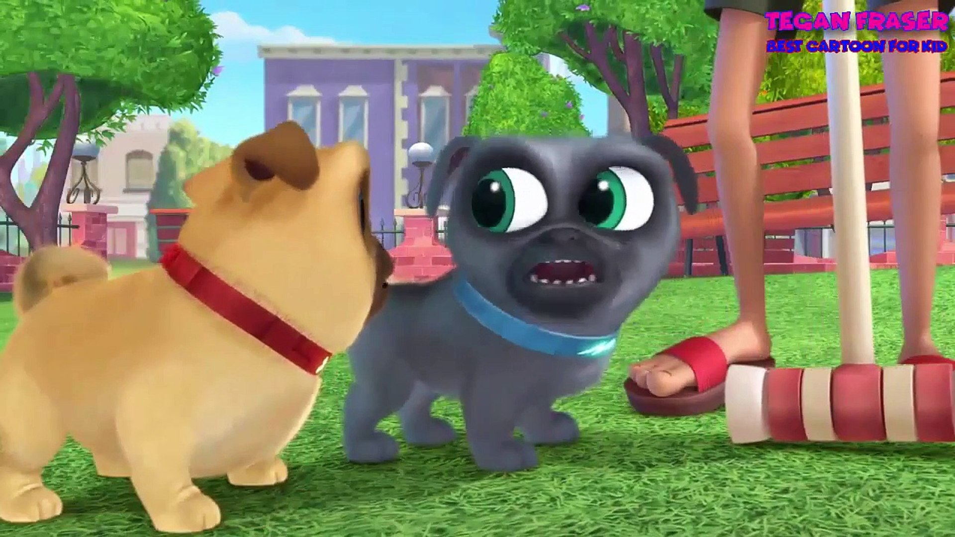 Puppy Dog Pals Take Me Out To The Pug Game 5 Tegan Fraser Video Dailymotion