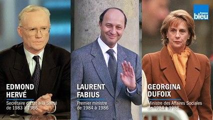 VIDÉO - Il y a 20 ans, trois ex-ministres jugés dans l'affaire du sang  contaminé