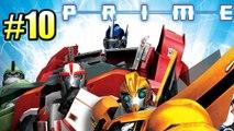 Трансформеры Прайм {Transformers Prime} часть #10 — ОПТИМУС против МЕГАТРОНА