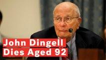 Longest-Serving American Congressman John Dingell Dies Aged 92
