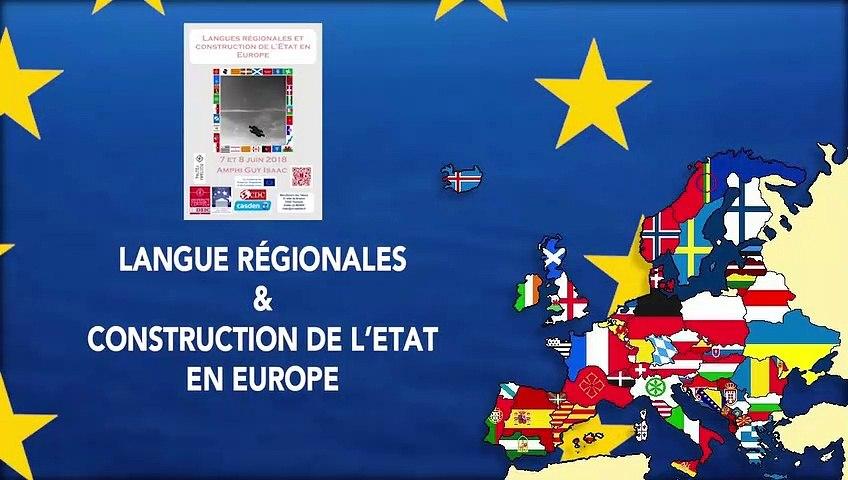« Langues régionales et revendications indépendantistes en Catalogne », Lluis Medir Tejado, Docteur de l'IEP de Toulouse, Professeur à l'université de Barcelone