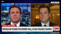 CNN's Chris Cuomo Blasts Florida Rep. Matt Gaetz On Gun Control