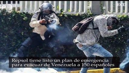 Repsol tiene un plan para evacuar a sus trabajadores