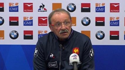 XV de France masculin : La composition pour l'Angleterre