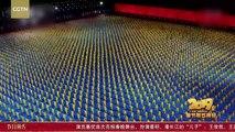 Magique : 20 000 élèves d'une école d'arts martiaux réalisent une chorégraphie de folie !