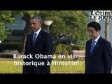 Barack Obama en visite historique à Hiroshima