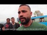 Des Kurdes du Liban manifestent pour Afrine