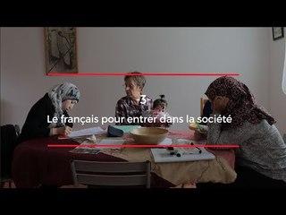 Syriens et réfugiés en France, ils ont une obsession : maitriser la langue de Molière (ép. 3)