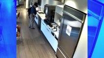 Un homme simule une fausse chute au travail pour toucher les assurances et ne se rend pas compte qu'il est filmé
