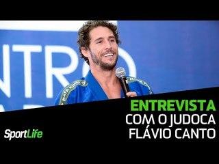 Judoca Flávio Canto fala sobre a importância do esporte em sua vida | Entrevista